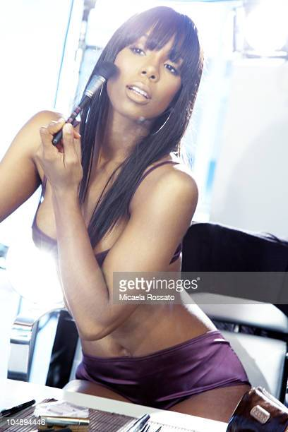 Singer Kelly Rowland poses at a portrait session for Complex in New York NY on October 1 2010