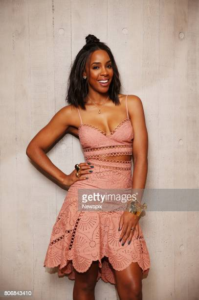 SYDNEY NSW Singer Kelly Rowland poses during a photo shoot in Sydney New South Wales