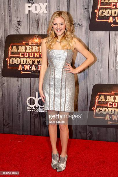 Singer Kelsea Ballerini attends the 2014 American Country Countdown Awards at Music City Center on December 15 2014 in Nashville Tennessee