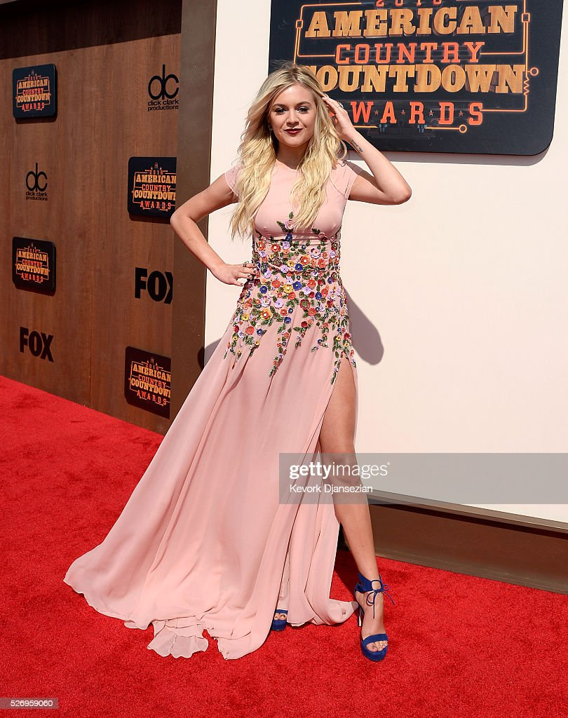 Singer Kelsea Ballerini attends the 2016 American Country Countdown Awards at The Forum on May 1, 2016 in Inglewood, California.