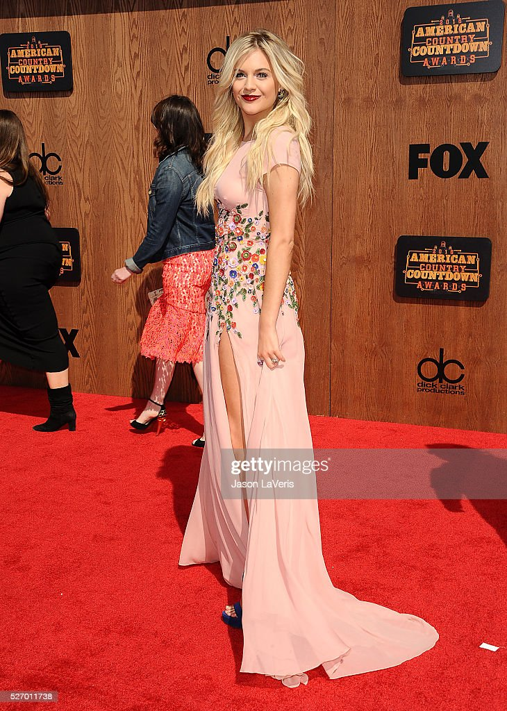 Singer <a gi-track='captionPersonalityLinkClicked' href=/galleries/search?phrase=Kelsea+Ballerini&family=editorial&specificpeople=12614491 ng-click='$event.stopPropagation()'>Kelsea Ballerini</a> attends the 2016 American Country Countdown Awards at The Forum on May 01, 2016 in Inglewood, California.