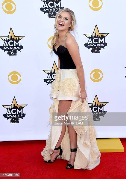 Singer Kelsea Ballerini attends the 50th Academy of Country Music Awards at ATT Stadium on April 19 2015 in Arlington Texas