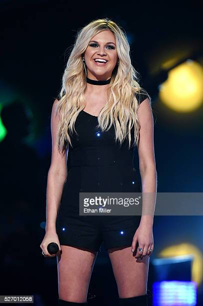 Singer Kelsea Ballerini performs onstage during the 2016 American Country Countdown Awards at The Forum on May 1 2016 in Inglewood California