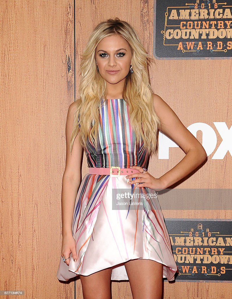 Singer <a gi-track='captionPersonalityLinkClicked' href=/galleries/search?phrase=Kelsea+Ballerini&family=editorial&specificpeople=12614491 ng-click='$event.stopPropagation()'>Kelsea Ballerini</a> poses in the press room at the 2016 American Country Countdown Awards at The Forum on May 01, 2016 in Inglewood, California.