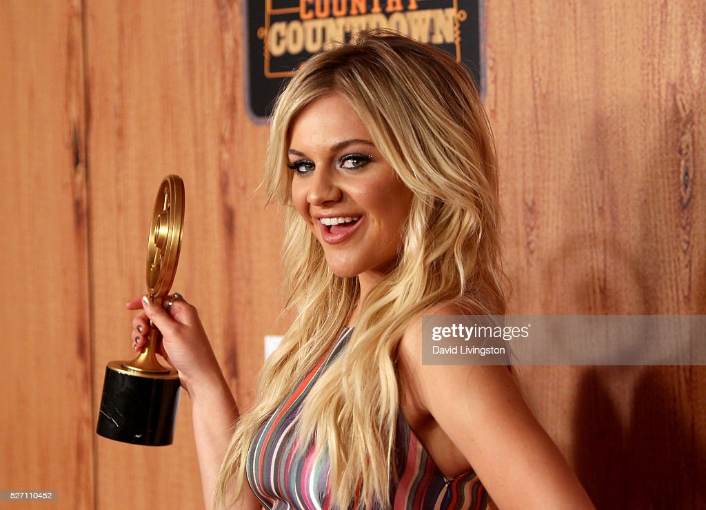 Singer <a gi-track='captionPersonalityLinkClicked' href=/galleries/search?phrase=Kelsea+Ballerini&family=editorial&specificpeople=12614491 ng-click='$event.stopPropagation()'>Kelsea Ballerini</a>, winner of 'Breakthrough Female of the Year,' poses in the press room at the 2016 American Country Countdown Awards at The Forum on May 01, 2016 in Inglewood, California.