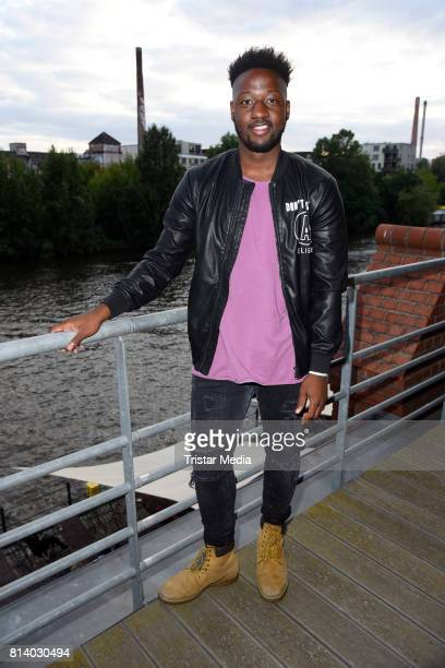 UK singer Kelvin Jones performs the 70th anniversary party of Budde Music on July 13 2017 in Berlin Germany