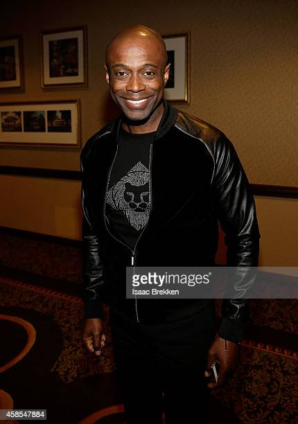 Singer Kem attends the 2014 Soul Train Music Awards Centric Soul Train Weekend KickOff Reception at The Orleans Hotel Dauphine Ballroom on November 6...