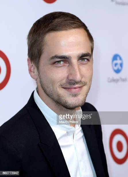 Singer Kendall Schmidt attends the Eva Longoria foundation annual dinner at Four Seasons Hotel Los Angeles at Beverly Hills on October 12 2017 in Los...