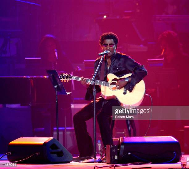 Singer Kenneth 'Babyface' Edmonds performs at the 7th Annual Andre Agassi Charitable Foundation's Grand Slam for Children benefit concert on...