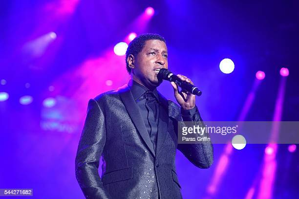 Singer Kenneth 'Babyface' Edmonds performs onstage at 2016 Essence Festival at Louisiana Superdome on July 1 2016 in New Orleans Louisiana