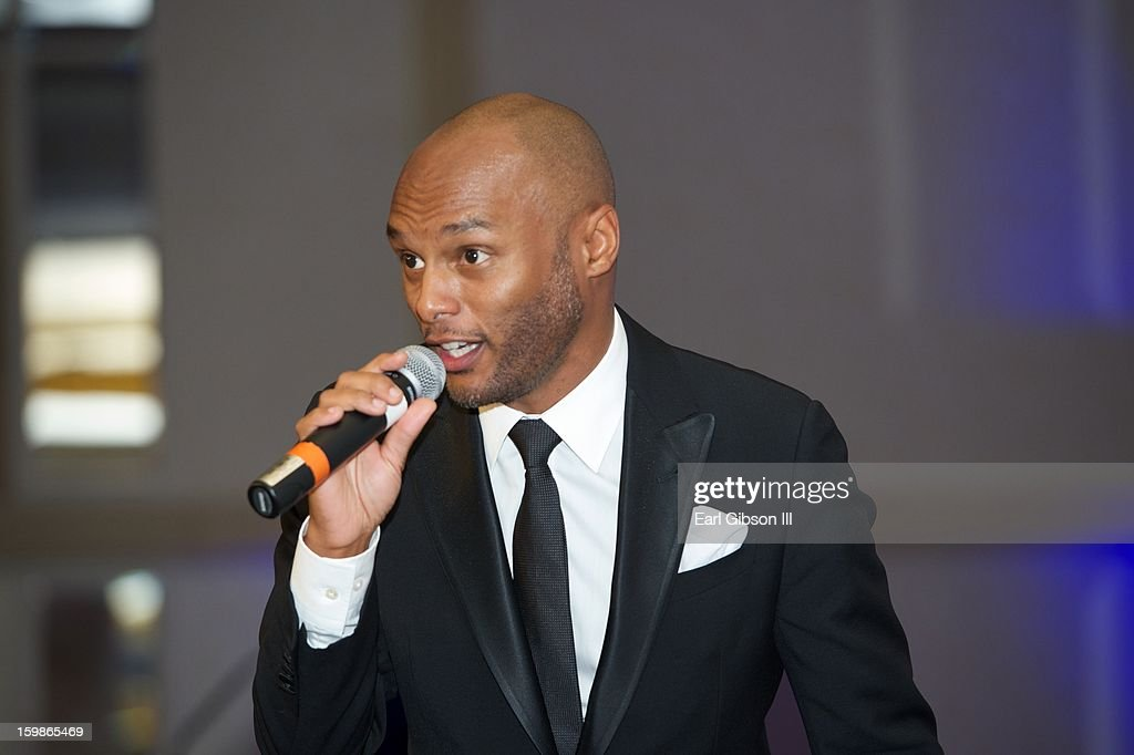 Singer <a gi-track='captionPersonalityLinkClicked' href=/galleries/search?phrase=Kenny+Lattimore&family=editorial&specificpeople=734613 ng-click='$event.stopPropagation()'>Kenny Lattimore</a> performs at the Congressional Black Caucus 2013 Inauguration Celebration at Capital Hilton on January 21, 2013 in Washington, United States.