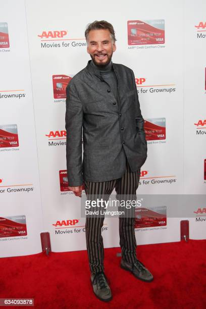 Singer Kenny Loggins attends the AARP's 16th Annual Movies for Grownups Awards at the Beverly Wilshire Four Seasons Hotel on February 6 2017 in...