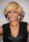 Singer Keri Hilson arrives at the 2010 American Music Awards held at Nokia Theatre LA Live on November 21 2010 in Los Angeles California