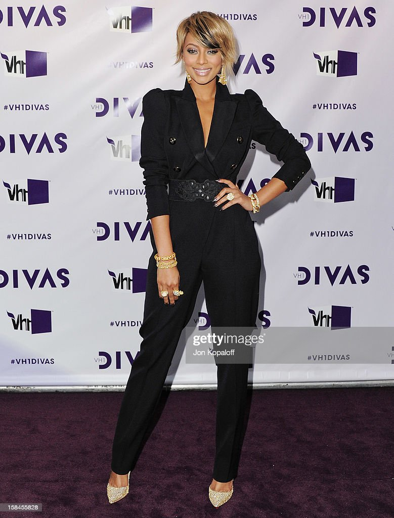 Singer Keri Hilson arrives at the 'VH1 Divas' 2012 at The Shrine Auditorium on December 16, 2012 in Los Angeles, California.