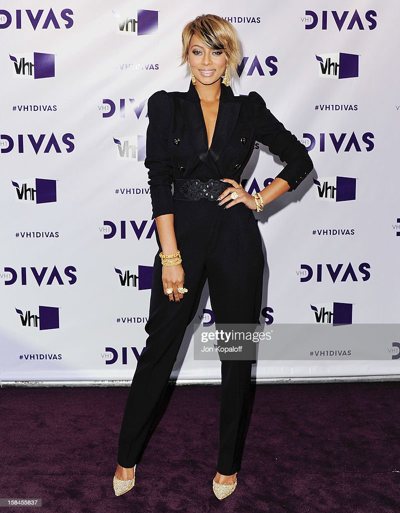 Singer Keri Hilson arrives at the 'VH1 Divas' 2012 at The Shrine Auditorium on December 16, 2012 in Los Angeles, California.