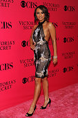 Singer Keri Hilson arrives at the Victoria's Secret fashion show at The Armory on November 19 2009 in New York City