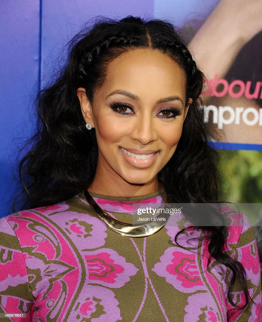 Singer Keri Hilson attends the Pan African Film & Arts Festival premiere of 'About Last Night' at ArcLight Cinemas Cinerama Dome on February 11, 2014 in Hollywood, California.