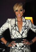 Singer Keri Hilson attends the 'Takers' Los Angeles Premiere after party held at Boulevard 3 on August 4 2010 in Hollywood California