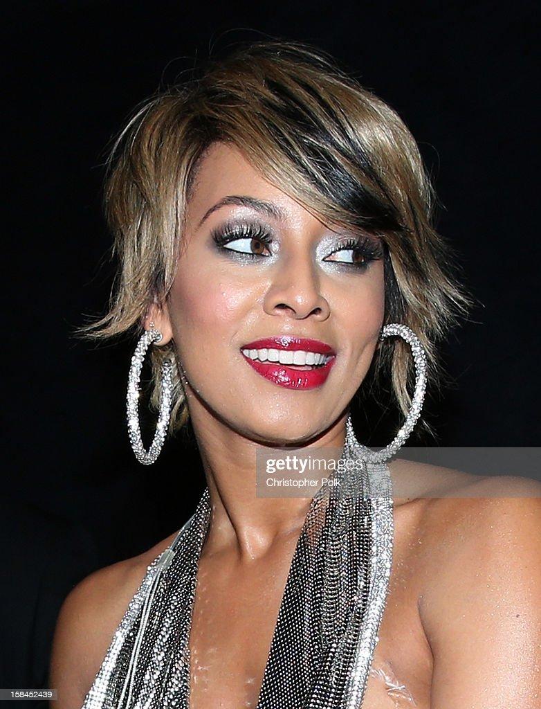 Singer Keri Hilson attends 'VH1 Divas' 2012 at The Shrine Auditorium on December 16, 2012 in Los Angeles, California.