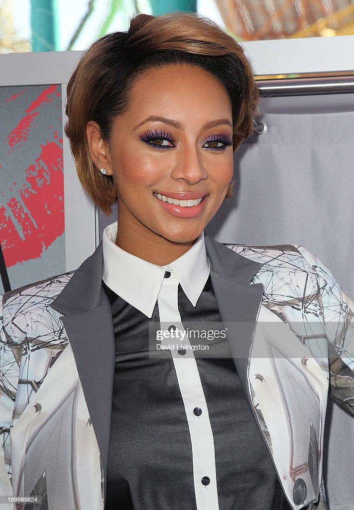 Singer <a gi-track='captionPersonalityLinkClicked' href=/galleries/search?phrase=Keri+Hilson&family=editorial&specificpeople=4340776 ng-click='$event.stopPropagation()'>Keri Hilson</a> launches the Gillette 'Kiss & Tell' Experiment on the Santa Monica Pier on January 16, 2013 in Santa Monica, California.