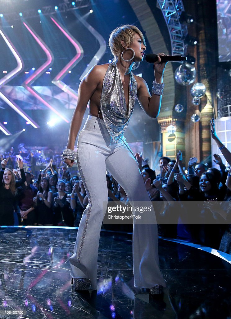 Singer Keri Hilson onstage during 'VH1 Divas' 2012 at The Shrine Auditorium on December 16, 2012 in Los Angeles, California.