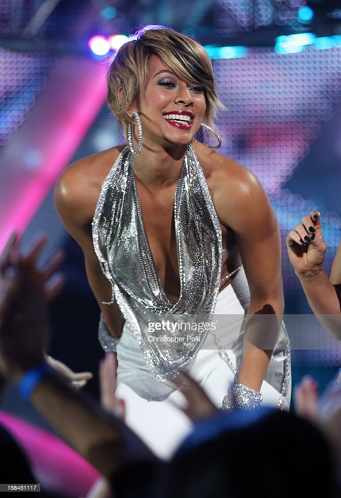 Singer Keri Hilson onstage during 'VH1 Divas' 2012 at The Shrine Auditorium on December 16, 2012 in Los Angeles, California.