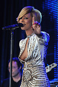 Singer Keri Hilson performs onstage at the 59th Annual BMI Pop Awards at the Beverly Wilshire Four Seasons Hotel on May 17 2011 in Beverly Hills...