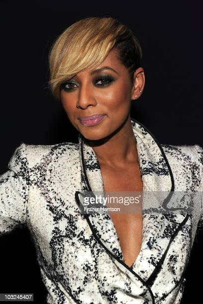 Singer Keri Hilson poses at the premiere after party of Screen Gems' 'Takers' at Boulevard 3 on August 4 2010 in Hollywood California