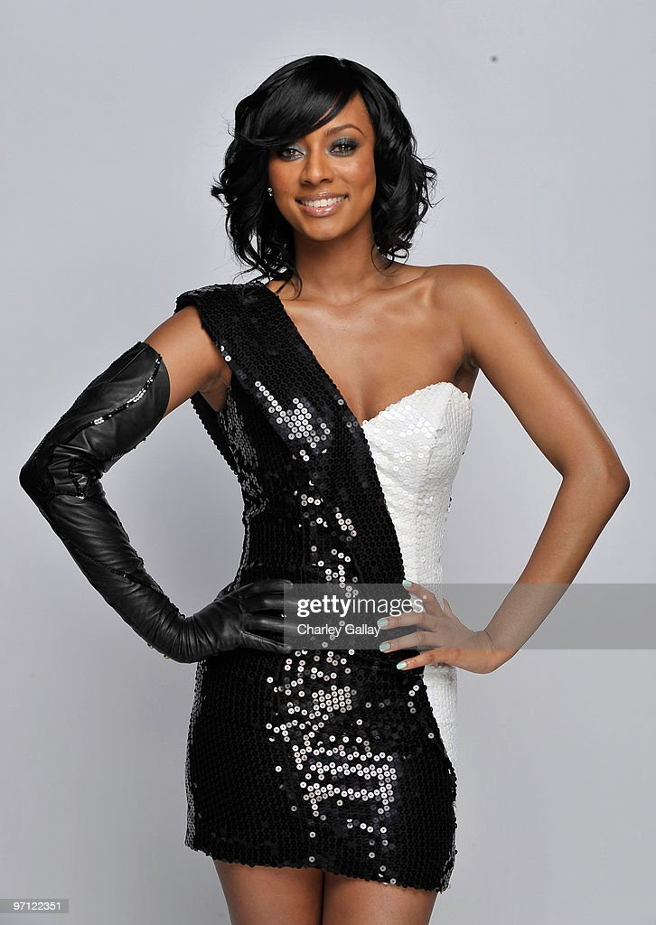 Singer <a gi-track='captionPersonalityLinkClicked' href=/galleries/search?phrase=Keri+Hilson&family=editorial&specificpeople=4340776 ng-click='$event.stopPropagation()'>Keri Hilson</a> poses for a portrait during the 41st NAACP Image awards held at The Shrine Auditorium on February 26, 2010 in Los Angeles, California.
