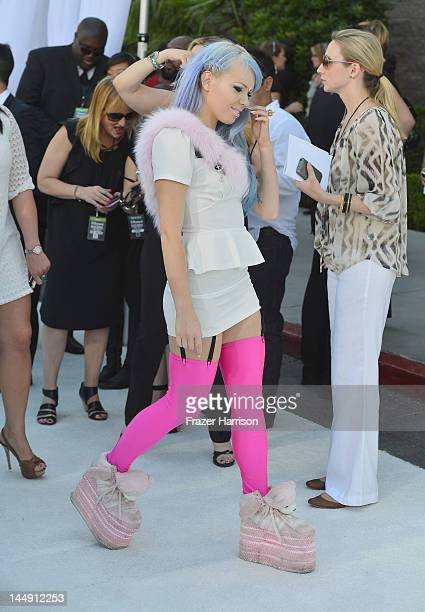 Singer Kerli arrives at the 2012 Billboard Music Awards held at the MGM Grand Garden Arena on May 20 2012 in Las Vegas Nevada