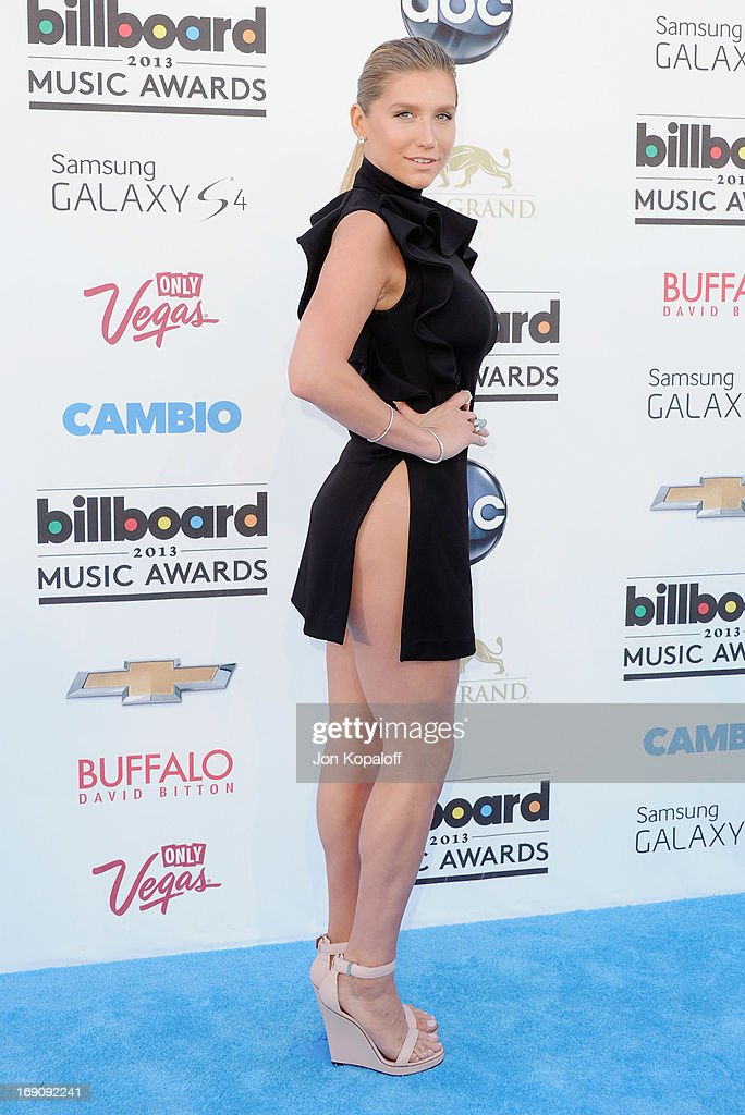 Singer Kesha arrives at the 2013 Billboard Music Awards at MGM Grand Hotel & Casino on May 19, 2013 in Las Vegas, Nevada.
