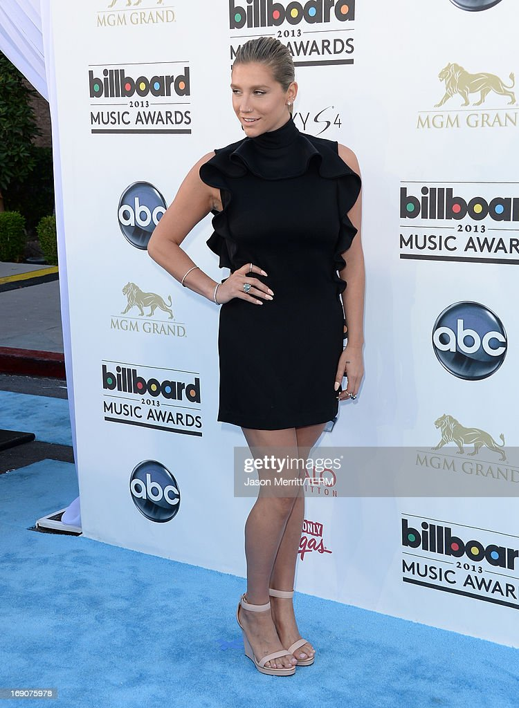 Singer Kesha arrives at the 2013 Billboard Music Awards at the MGM Grand Garden Arena on May 19, 2013 in Las Vegas, Nevada.
