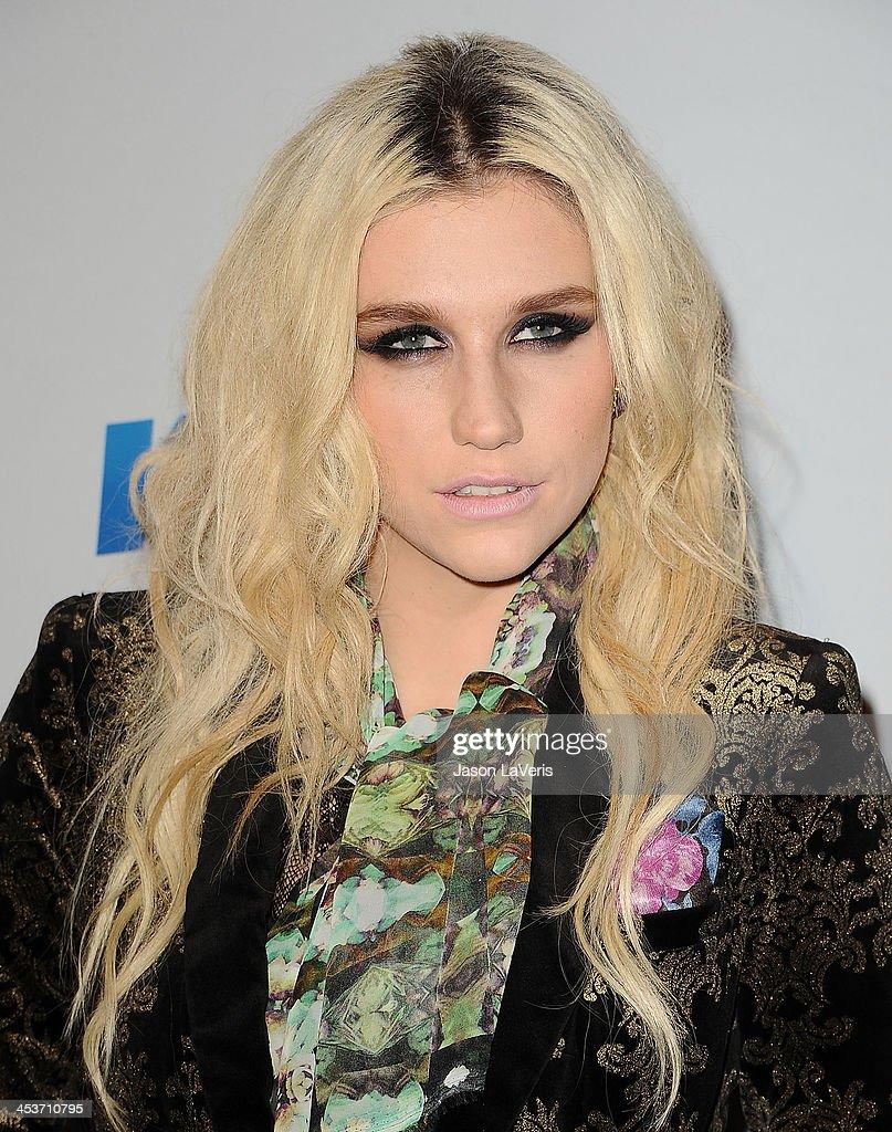 Singer Kesha attends KIIS FM's Jingle Ball 2012 at Nokia Theatre LA Live on December 3, 2012 in Los Angeles, California.