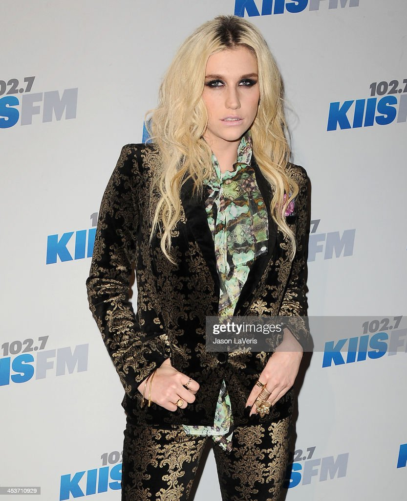 Singer Kesha attends KIIS FM's Jingle Ball 2012 at Nokia Theatre LA Live on December 3, 2012 in Los Angeles, California.