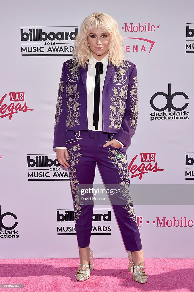 Singer Kesha attends the 2016 Billboard Music Awards at TMobile Arena on May 22 2016 in Las Vegas Nevada
