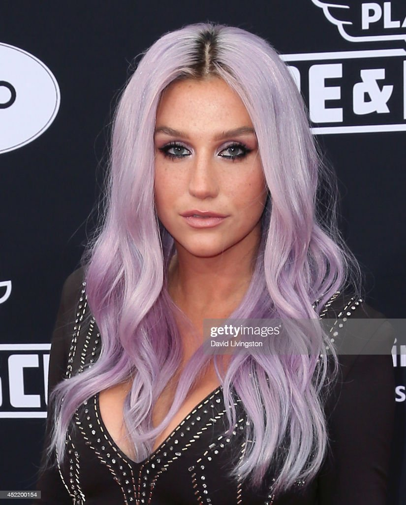 Singer Kesha attends the premiere of Disney's 'Planes: Fire & Rescue' at the El Capitan Theatre on July 15, 2014 in Hollywood, California.