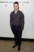 Singer Kevin Jonas attends Hold My Hand Forever Exhibition By Forevermark at Highline Studios on November 17 2014 in New York City