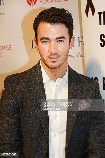 Singer Kevin Jonas attends the 2014 TJ Martell Honors Gala New York at Cipriani 42nd Street on October 21 2014 in New York City