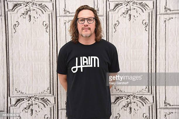 Singer Kevin Martin discusses his new album 'Candlebox Disappearing In Airports' during AOL BUILD Presents Series at AOL Studios In New York on May...