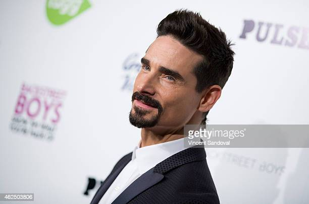 Singer Kevin Richardson of The Backstreet Boys attends the Los Angeles premiere of 'Backstreet Boys Show 'Em What You're Made Of' at ArcLight Cinemas...