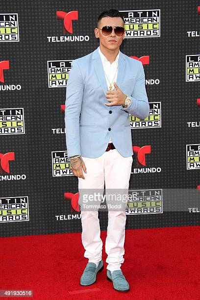 Singer Kevin Roldan attends the Telemundo's Latin American Music Awards 2015 held at Dolby Theatre on October 8 2015 in Hollywood California