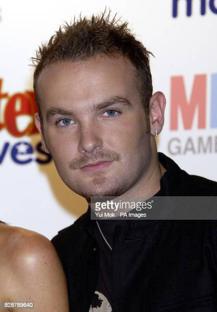 Singer Kevin Simm from Liberty X at the launch of the new game Twister Moves held at the Cc Club in central London MB's Twister Moves is a funky...