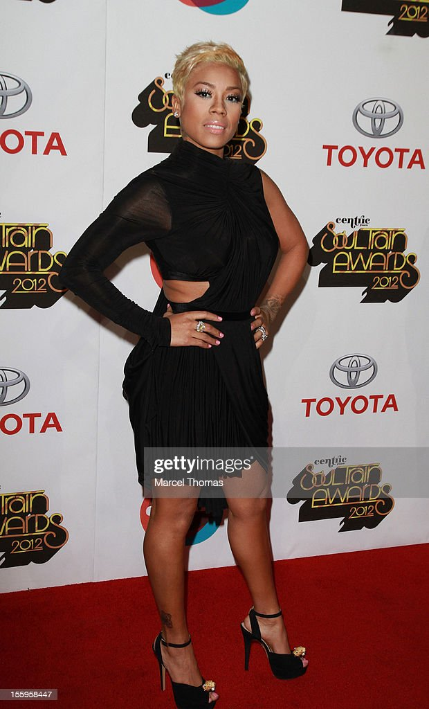 Singer Keyshia Cole attends the Soul Train Awards 2012 at PH Live at Planet Hollywood Resort and Casino on November 8, 2012 in Las Vegas, Nevada.