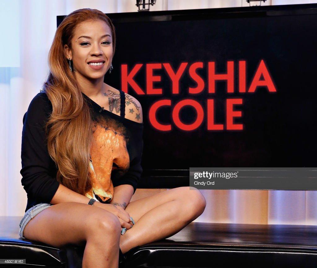 """Keyshia Cole Visits Music Choice's """"You & A"""""""