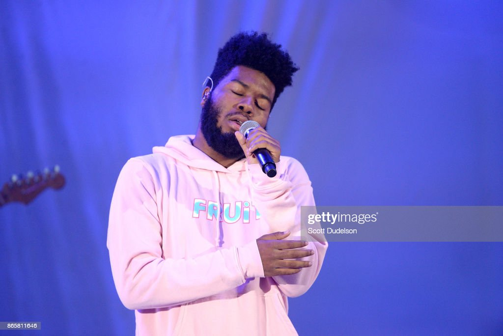 Singer Khalid performs onstage during the 5th annual 'We Can Survive' benefit concert presented by CBS Radio at the Hollywood Bowl on October 21, 2017 in Hollywood, California.