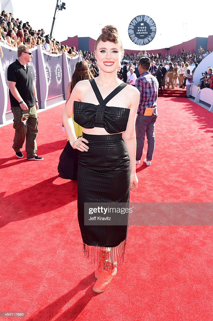 Singer Kiesa 'Kiesza' Rae Ellestad attends the 2014 MTV Video Music Awards at The Forum on August 24, 2014 in Inglewood, California.