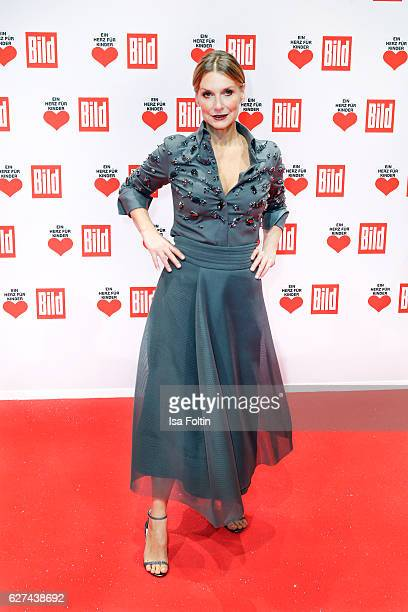 Singer Kim Fisher attends the Ein Herz Fuer Kinder gala on December 3 2016 in Berlin Germany