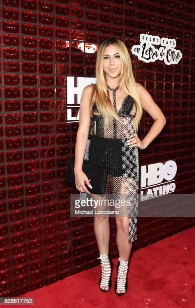 Singer Kim Viera attends HBO Latino x Pedro Capo En Letra de Otro at La Marina Restaurant Bar Beach Lounge on August 9 2017 in New York City