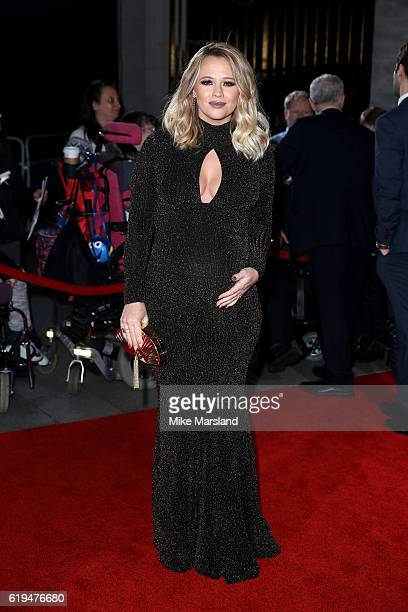 Singer Kimberley Walsh attends the Pride Of Britain Awards at The Grosvenor House Hotel on October 31 2016 in London England