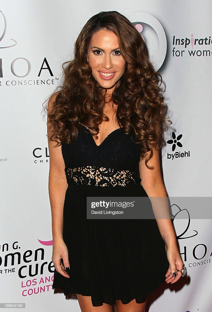 Singer Kimberly Cole attends the 2nd Annual Inspiration Awards to benefit The Susan G. Komen For The Cure at Royce Hall, UCLA on November 4, 2012 in Westwood, California.